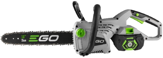 EGO POWER brushless motor chainsaw