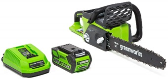Greenworks G-MAX Cordless Brushless Chainsaw