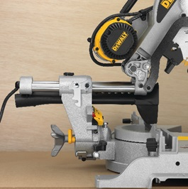 DEWALT Corded-Electric Double-Bevel Sliding Compound Miter Saw