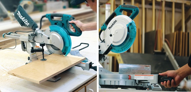 Makita Dual Slide Compound Miter Saw