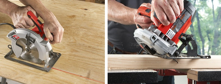lightweight circular saw