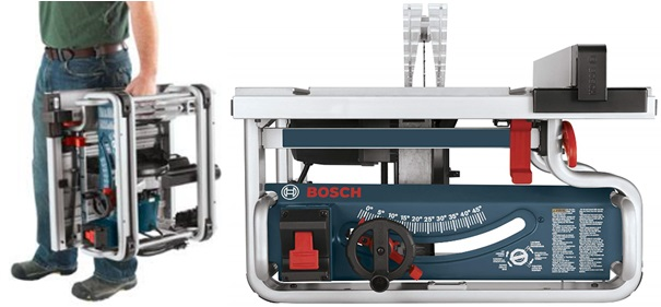BOSCH Portable Job-Site Table Saw