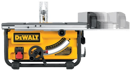 DEWALT corded-electric table saw