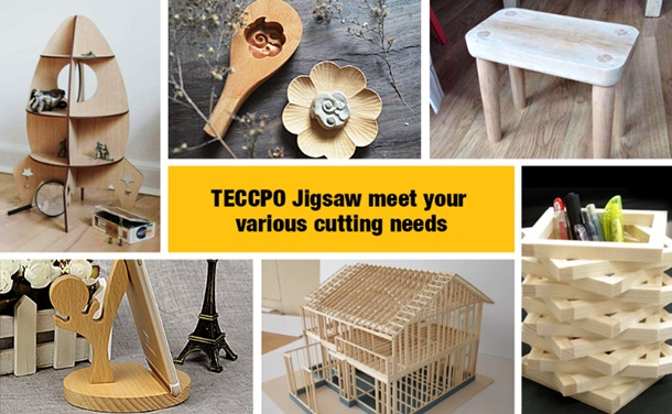 TECCPO Electric Jig Saw