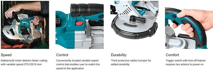 Makita Cordless Portable Band Saw